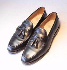ALLEN EDMONDS Sz. 9.5 D Black Tassel Loafers SlipOns Moccassins Mens Dress Shoes