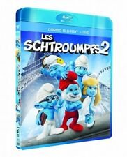Les Schtroumpfs 2 COMBO BLU-RAY + DVD NEUF SOUS BLISTER