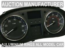 Renault Trafic II 2001-2014  2- Teilig Aluminium Tachoringe / Tacho Ringe