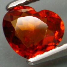 0.82 Carat Natural Mandarin Orange Spessartine GARNET for Jewelry Setting HEART