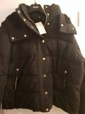 SIZE 14 BLACK HEAVYWEIGHT PER UNA JACKET MARKS AND SPENCER 99.00