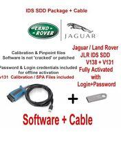 Land Rover Range Rover Vogue Evoque Diagnostics kit v138 + V131 Cable + USB 16GB