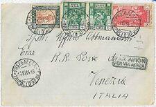colonie Italiane - Storia Postale: LIBIA LYBIA Busta per Italia 1934