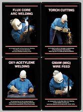 GMAW & Flux Core Arc Welding & Oxy-Acetylene & Torch Cutting (4 DVD Welding Set)