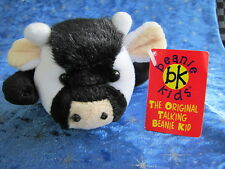 BEANIE KIDS - MOO THE TALKING COW BK 74 WORKING SOUND CHIP SOFT CUTE GIFT RETIRE