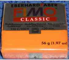 Pâte fimo classic orange N°4
