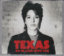 MAXI CD SINGLE 4T TEXAS SO IN LOVE WITH YOU DE 1994 NEUF SCELLE UK