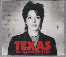 MAXI CD SINGLE 4T TEXAS SO IN LOVE WITH YOU DE 1994 NEUF SCELLE UK