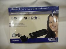 Wireless LAN USB 2.0 Adapter 54mbps ~ Brand New Sealed In Box
