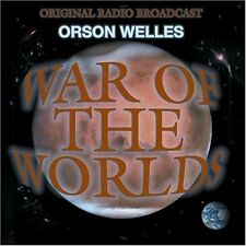 Orson Welles - War of the Worlds [New CD]
