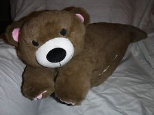 """Childs Pillow Attachable Toddler Sleeping Bag 26"""" Plush Soft Toy Stuffed Animal"""