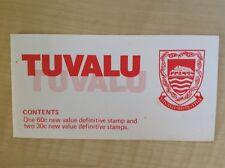Tuvalu booklet 1984 $1.20 SG SB5