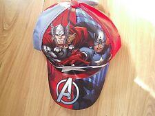 Boys Official Marvel Avengers Character Summer Sun Baseball Cap Youth, Child
