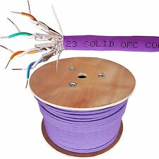 305m CAT6a U/FTP LSZH Cable –Low Smoke Shielded/Screened Pure Copper 23 AWG Data