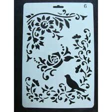 "15X15cm 6/""X6/"" TCW Pochoir décor /""Mini Flying Garden/"""