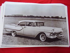1957 FORD FAIRLANE 4DR  11 X 17  PHOTO  PICTURE