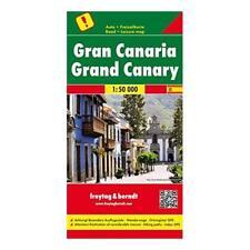 9783707914252 Gran Canaria 1:50.000 - Freytag-Berndt und Artaria KG