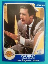1985 Star head coach PAT RILEY card