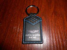 porte-clés cuir ASTON MARTIN RACING noir/bleu - neuf