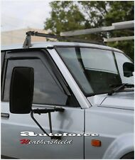 "NISSAN PATROL GQ 88-97 ""2"" DOOR WEATHER SHIELD WEATHERSHIELD WINDOW VISOR"