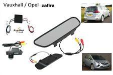 vauxhall ZAFIRA C  rear  reversing camera monitor 5 inch kit
