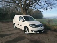 Vw caddy Bluemotion Tech C20 Highline 1.6 TDI FSH No VAT #NO Reserve.......