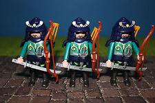 Playmobil    Asia Welt 3 Samurai  Ritter Bogenschützen