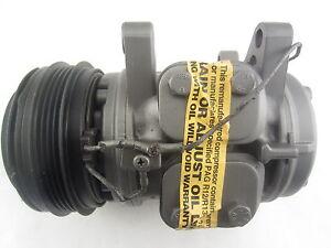 For Ford Festiva 1.3L L4 1990-1993 A/C Compressor w/ Clutch Denso Remanufactured