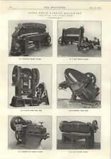 1914 Sheet Metal Guillotine Bending J Rhodes Whitfield