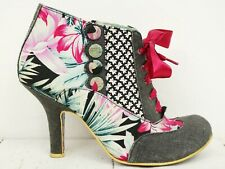 IRREGULAR CHOICE Iconic 💕 Stiefeletten Gr. 39 Damen Ankle Boots Shoes