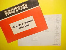 1965 1966 1967 1968 1969 FORD THUNDERBIRD CONVERTIBLE VACUUM+WIRING DIAGRAMS
