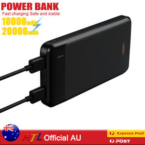 【HTL Pro】Fast Charger Power Bank Portable BatteryDual Input for Mobile Phone