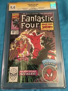 Fantastic Four #342 - Marvel - CGC SS 9.4 NM Signed by Walt Simonson