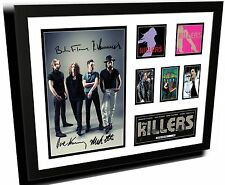 THE KILLERS SIGNED LIMITED EDITION FRAME MEMORABILIA