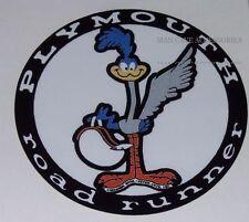 Nostalgic Plymouth Road Runner Vinyl Decal Sticker Roadrunner