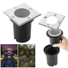 LED Bodeneinbaustrahler GU10 Eckig Strahler Leuchte ohne Leuchtmittel IP67