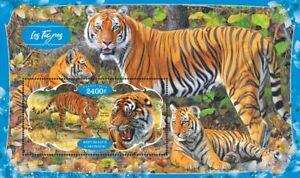 Tigers tigres Tiger / wild cats 2020 s/s MNH #VG2752