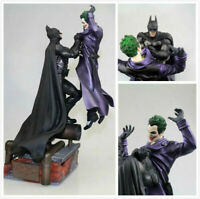Batman Arkham Origins Statue VS Joker PVC Figure Model Collectors Toy 32cm