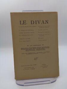 Revue LE DIVAN n°263 Stendhal Shakespeare Saroyan Proudhon ...