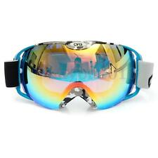 Anti-fog UV Dual Snow Lens Winter Outdoor Snowboard Ski Goggle Protect Glasses