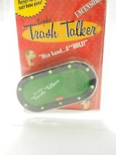 The Poker Trash Talker uncensored battery operated Rudeness machine