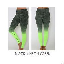 Women's Girl Yoga Running Pants High Waist Trousers Leggings Fitness Gym Clothes