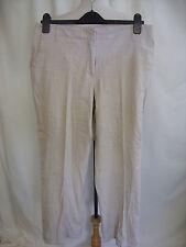 "Ladies Trousers Principles beige stretch, UK14 waist 32"" inside leg 28"" 7316"