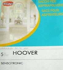 INTERFILTER 5 sacs pour aspirateur HOOVER SENSOTRONIC