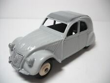 DINKY TOYS MECCANO FRANCE. #24tF  CITROEN 2CV. RESTORED NEAR MINT