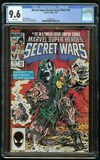 SECRET WARS #10 (1985) CGC 9.6 MARVEL SUPER HEROES DR DOOM WHITE PAGES