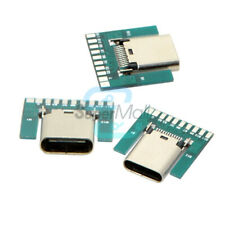 1/2/5PCS USB 3.1 Type C Female Plug Socket Connector SMT Type PCB Board 24Pin