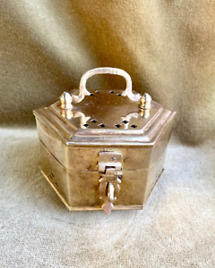 Vintage Brass Cricket/ Trinket Box