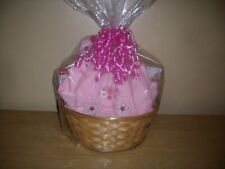 New Arrival Baby Girl Baby Shower Gift Basket or Centerpiece