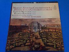YEHUDI MENUHIN Mozart Sinfonia Concertante LP US 1960s Angel